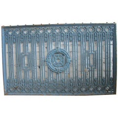 Wrought Iron Balcony Guard
