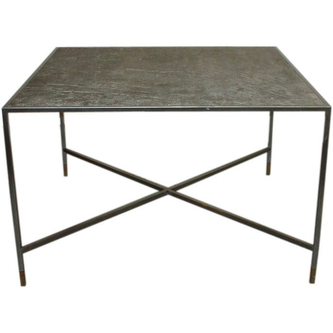 Square Dining Or Center Table At 1stdibs