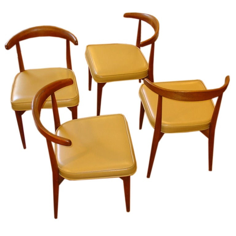 this set of four danish style dining chairs is no longer available