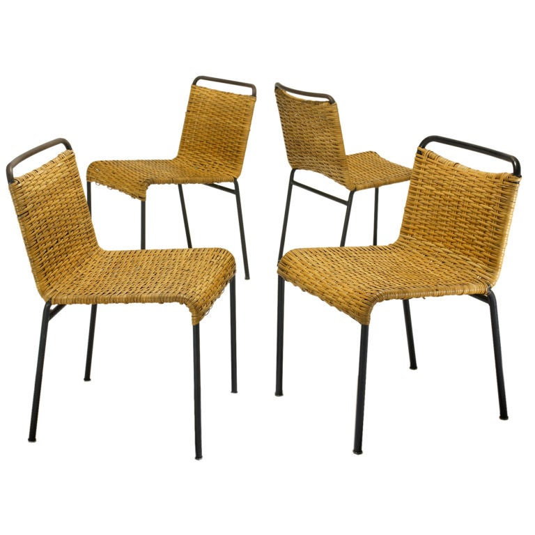 Chairs set of four by hendrick van keppel and taylor for Hendricks furniture