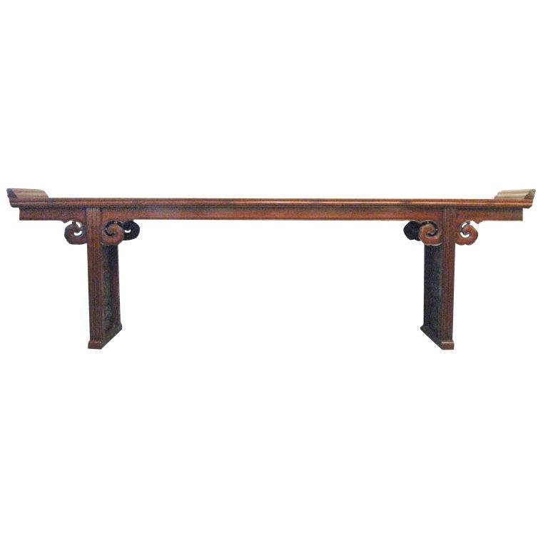 Massive E. 19th Century Chinese Altar Table