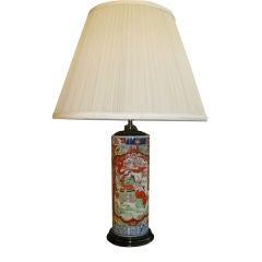 19th Century Japanese Imari Lamp
