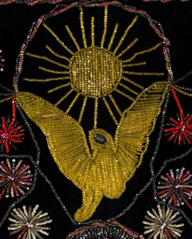 Extraordinary Patriotic Memorial Beadwork 3