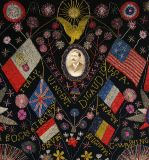 Extraordinary Patriotic Memorial Beadwork image 5
