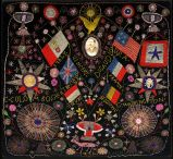 Extraordinary Patriotic Memorial Beadwork image 9