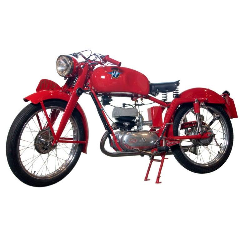 Vintage Mv Agusta Motorbike 150cc At 1stdibs