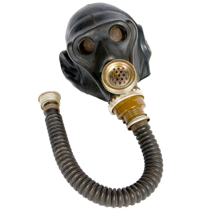 Vintage Gas Mask At 1stdibs