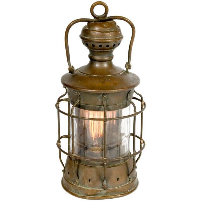 Vintage Lantern At 1stdibs