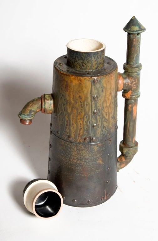 Ceramic Steampunk Coffee Pots At 1stdibs