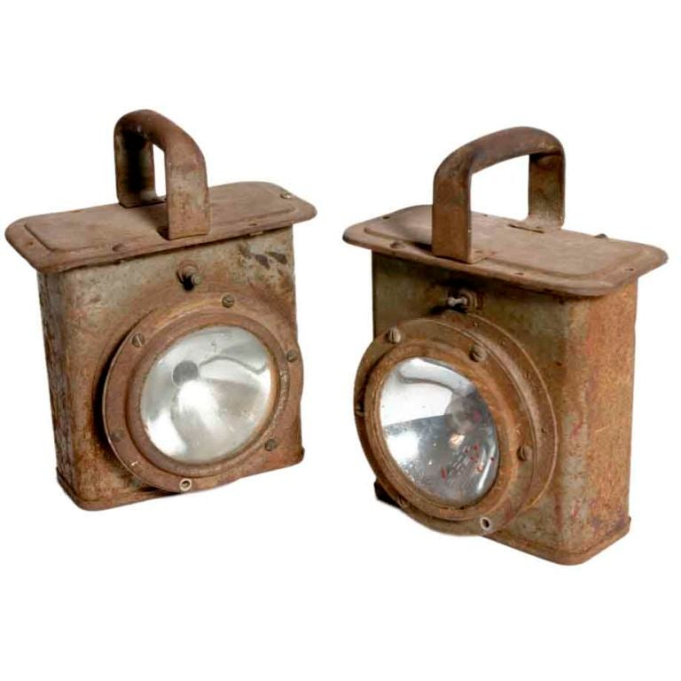 Industrial Carriage Lantern at 1stdibs