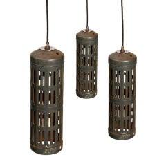 Industrial Cylinder Pendant Lights
