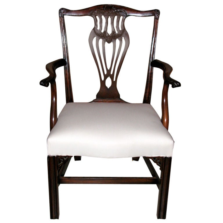 Chippendale Dining Room Chairs: Set Of 14 Chippendale Dining Room Chairs For Sale At 1stdibs