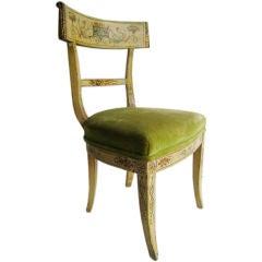 Hand Painted Italian Chair