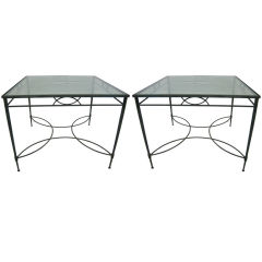 Pair of 1960s Italian Salterini Dining Tables
