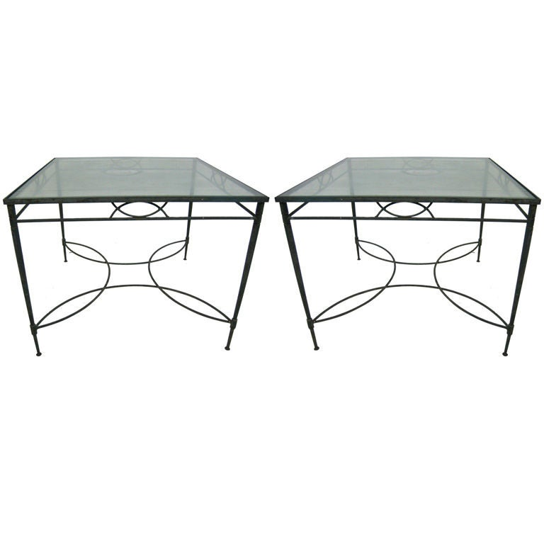 Pair of 1960s Italian Salterini Dining Tables 1
