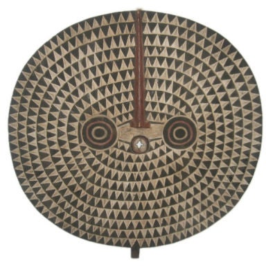African Sun Mask from the Bobo Tribe