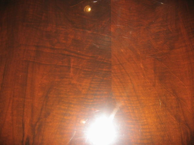 1940s French Rosewood Dining Table For Sale 3