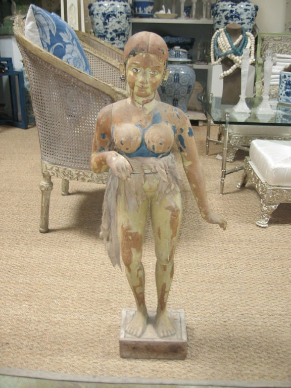Late 18th c. Indian Goddess Statue 2