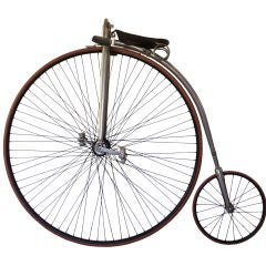 Victor Light Roadster Highwheel Bicycle thumbnail 1