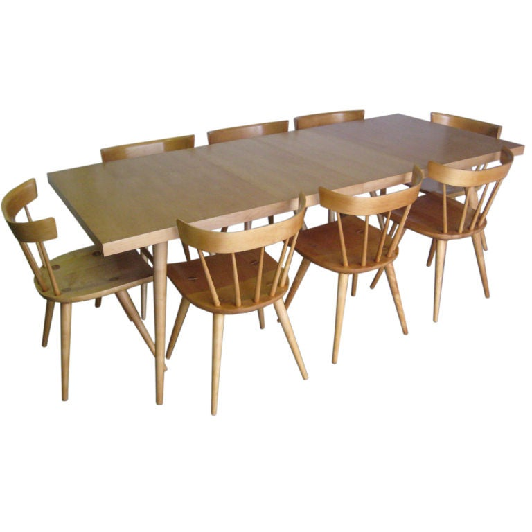 Maple Dining Room Set: Maple Dining Set By Paul McCobb At 1stdibs