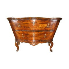Italian 18th Century Shaped Commode