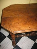 French early 18th century walnut table image 3