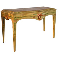 Venetian Neoclassical late 18th century Painted Console Table
