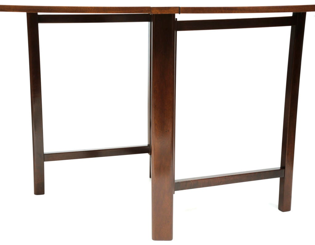 Bruno mathsson folding dining table at 1stdibs for Folding dining table