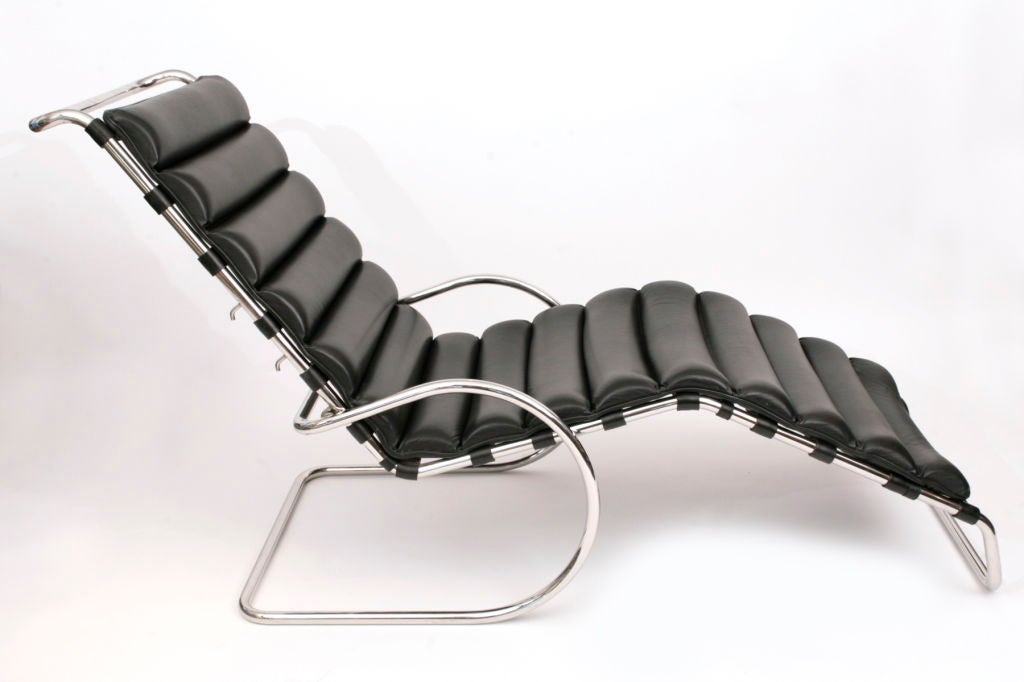 mies der rohe adjustable mr chaise lounge at 1stdibs