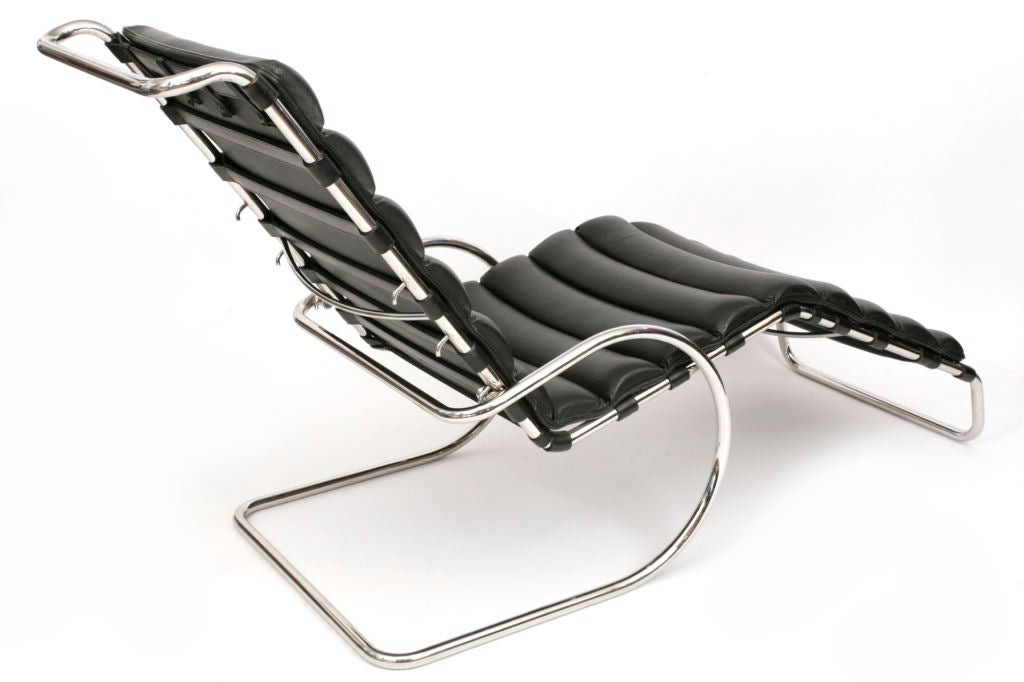 Mies Van Der Rohe Adjustable MR Chaise Lounge at 1stdibs