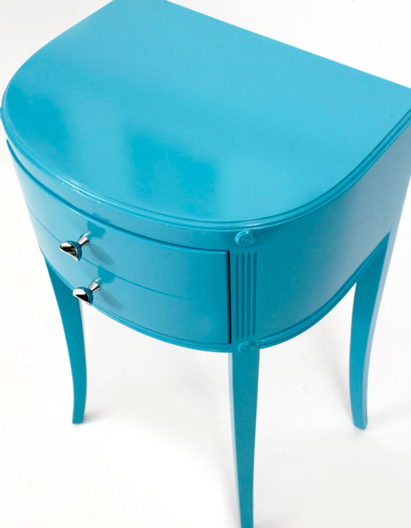 Demi Lune Lacquered Night Stands image 3