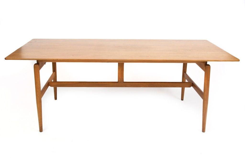 Dining Table Finn Juhl Teak Dining Table