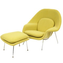 Iconic Eero Saarinen Knoll Womb Chair