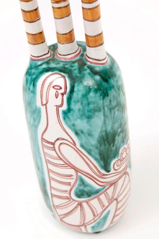 Rare Ceramic Vase by Mastrantoni 3
