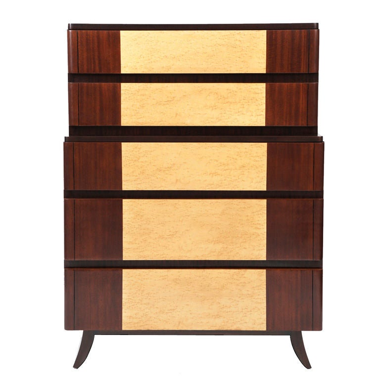 Eliel Saarinen Art Deco Highboy 1
