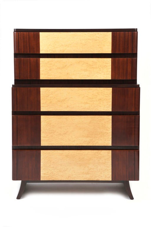Eliel Saarinen Art Deco Highboy 2