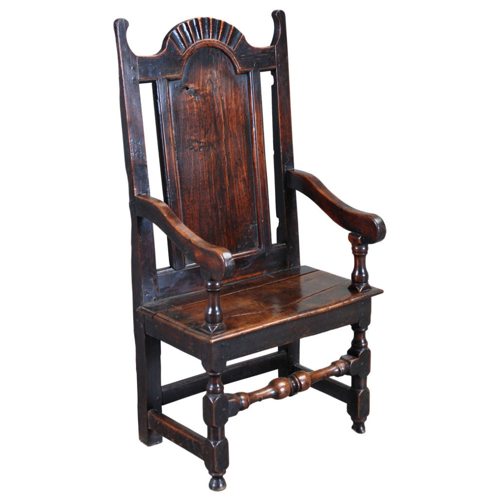 Good 17th Century Wainscot Chair At 1stdibs
