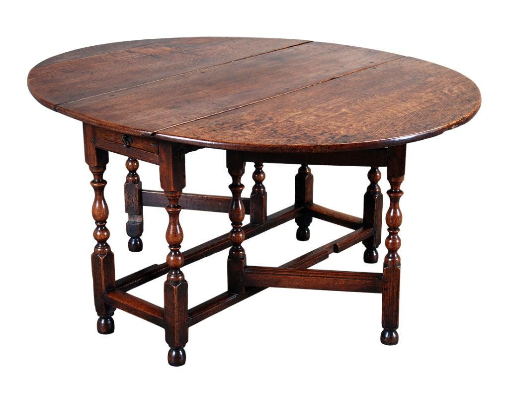 Oak Gate Leg Table image 3