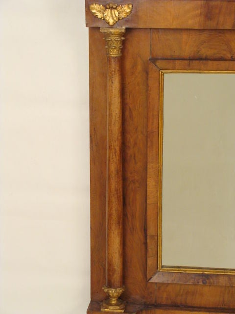 Empire Overmantle Mirror At 1stdibs