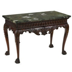 An Irish George II Mahogany Console Table