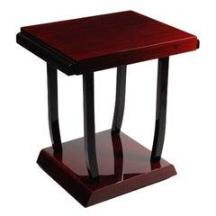 French Art Deco Mahogany Table