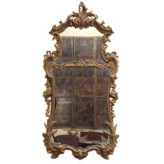 A Rococo Mirror restored by the Edward and Roberts firm