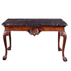 George II Walnut Console Table