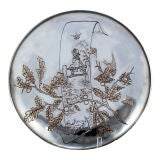 Charming Kate Greenaway Inspired Sterling Silver Gorham Platter, 1880