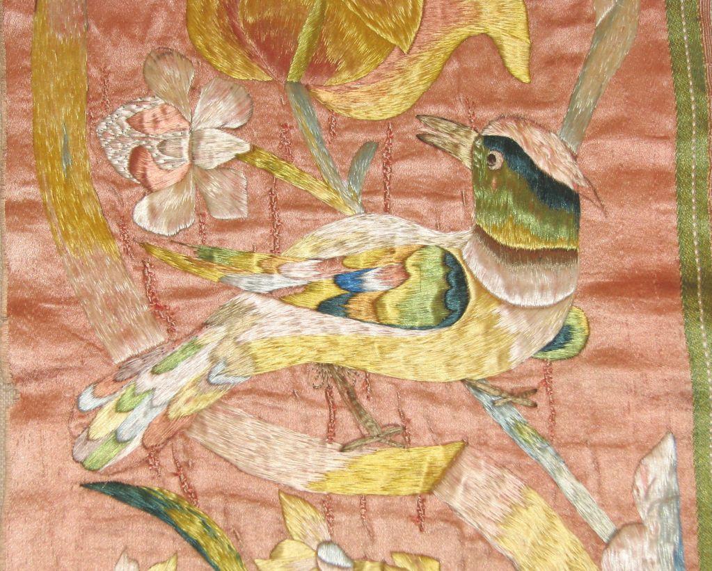 17th Century Italian Silk Embroidery image 2