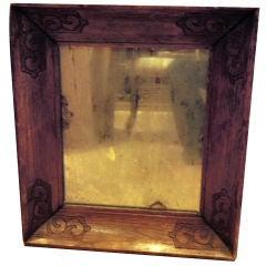 Antique Carved Mirror