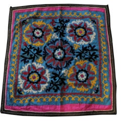 A Vintage Embroidered Suzani