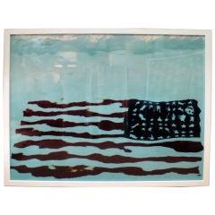 An Original American Flag Photo by Oberto Gili