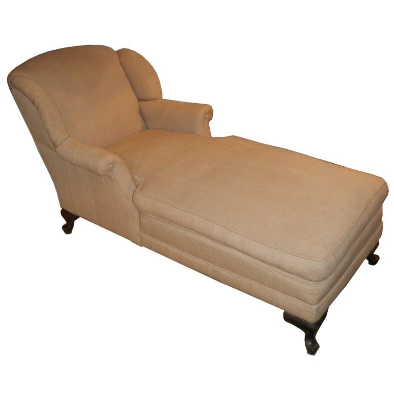 Early 20th century chaise lounge at 1stdibs for Century furniture chaise lounge