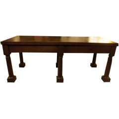 Belgian Rectory Table in Walnut